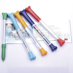 Bone shape pullout pen