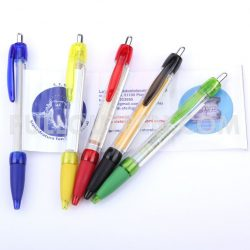 DISPLAY YOUR MESSAGE INSIDE A PULL OUT BANNER PEN!